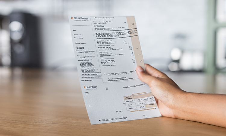 SaskPower Bill