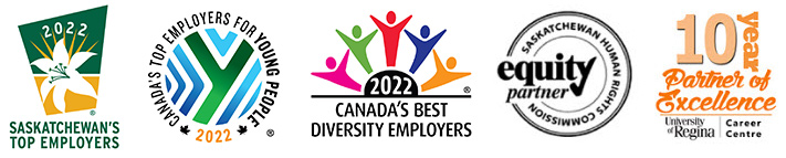 Employer award logos