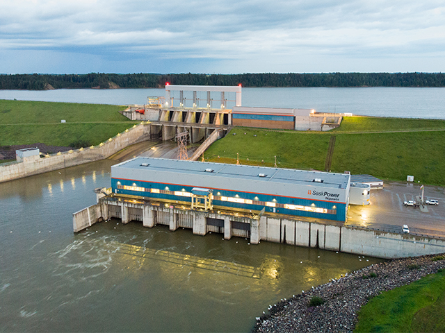 Nipawin Hydroelectric Station