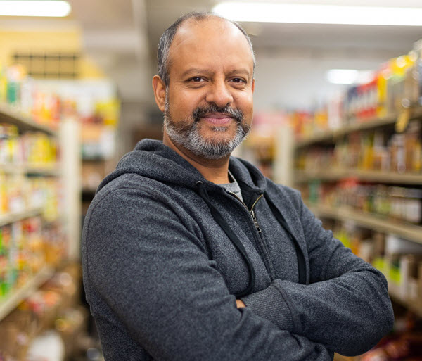 Narinder 'Tony' Matharu from Tony's India Food Center